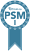 PSM Certification badge